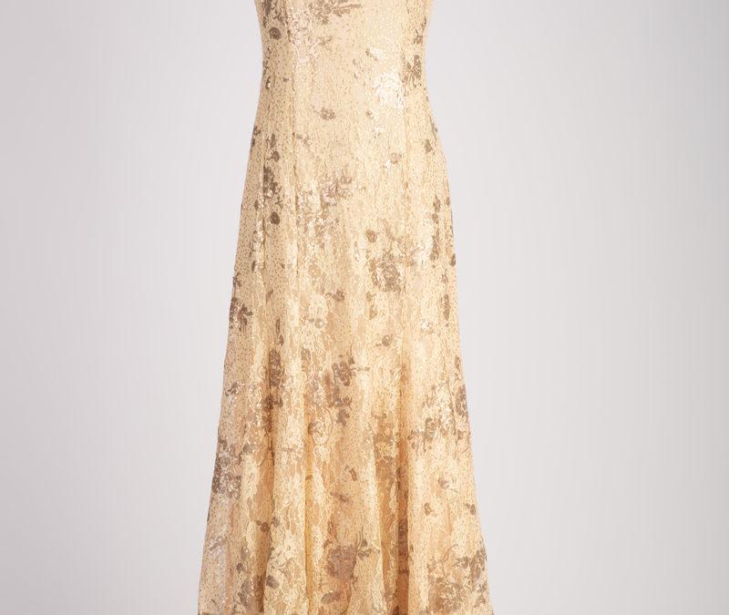 Gold Dress…
